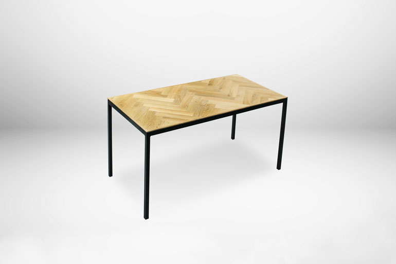 Steel table  – matbord